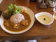 JRさわやかウォーキング「法多山全国だんご祭りと県内B級グルメ体験ウォーキング」 昼食は「Bija」