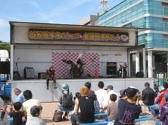 JRさわやかウォーキング「馬込川堤ウォークと浜松まつり会館散策」、知久屋「トンテキ丼」