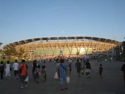 エコパにてサッカー観戦