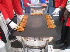 「公民館祭り」、「初号アサヒビール 復刻版」、そして「柿の葉壽司」