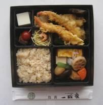「一水庵 特上弁当 天ぷら」、「直搾り 沖縄産シークアーサー」、そして「福豚 熟成ロースハム」