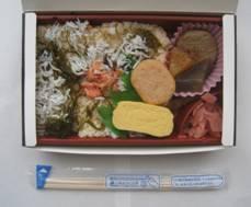 「富士見園」、そして「静岡産 桜海老としらすのうまいもんで弁当」