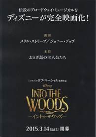 イントゥ・ザ・ウッズ(Into the Woods)
