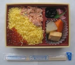 「サントリー南アルプスの天然水&ヨーグリーナ」「北海道の幸 鮭いくら弁当」、そして「コレステロールは高くてもいい」
